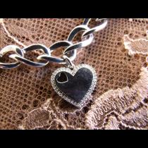 Bracelet en Argent 925 serti de Diamants