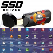 Clé USB SSD Linux bootable PC on Key 32Go 64Go